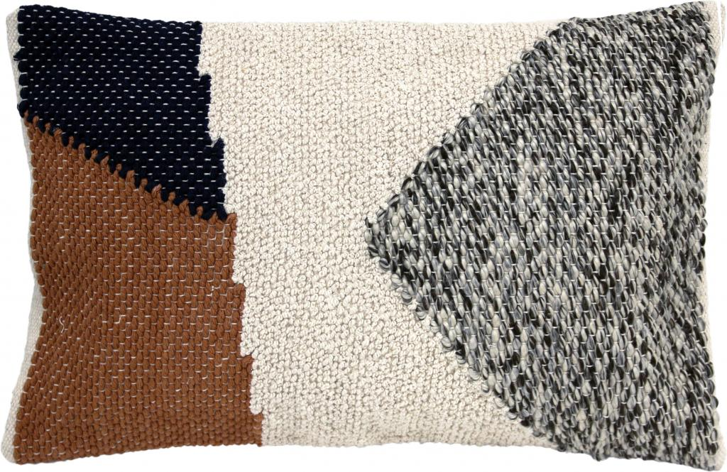 Kissen gestrickt herbstfarben cm hk living kaufen